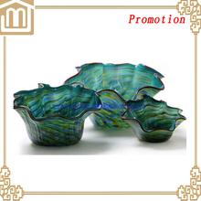 2015 Hot Sale! Popular Cheap Fine Promotion Glass Fruit tray /glass fruit plate /glass dish