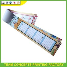 Free printable mini paper calendars