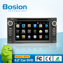 Android 4.2.2 Toyota car DVD player with GPS navigation Bluetooth Radio 3D UI 3G WIFI SWC