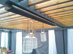 Far radiant infrared heater outdoor waterproof celing patio heater