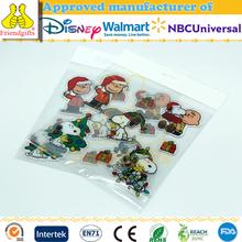 Wholesale custom cute pvc window static cling stickers