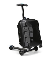 multi-function Top-selling abs printed hard shell trolley luggages