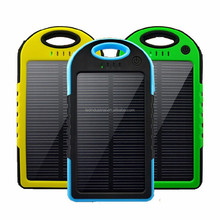Solar mobile charger for iphone ipad charging 5000-30000mah solar power bank
