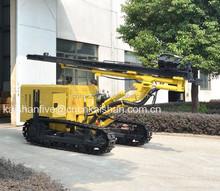 Kaishan de media presión 10-17BAR Crawler plataforma de perforación del neumático hidráulico minería plataforma de perforación