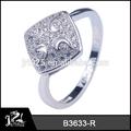 design antigo prata anéis china atacado jóias cz anel