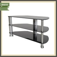 Glass new model clear acrylic 2014 popular tv stand RA016