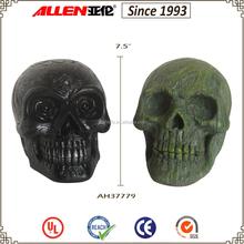 "7.5"" factory direct wholesale lifesize resin skull head"