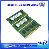 China north America ETT chips computer parts ram memory ddr 3 4gb for laptop