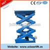 Hydraulic scissor lift table /scissor lift platform price