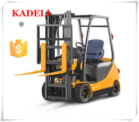 2.5Ton AC fork lift truck, Electric fork lift with CURTIS controller and battery charger