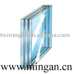 Multi-layer fire resistant glass