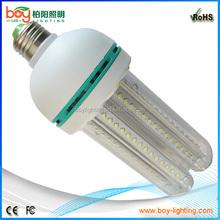 Household and factory lighting,4U shape corn energy saving led lights E27 23W