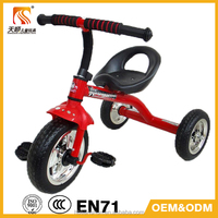 China Pingxiang factory CE approved cheap metal kids children Baby Tricycle
