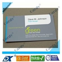 Clásico de plástico PVC NFC del nombre comercial de
