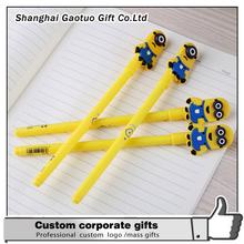 Custom Fashion Despicable Me Minion Gel Pen