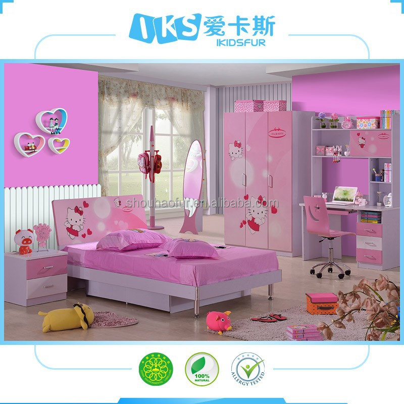 Hello kitty girls bedroom furniture exotic bedroom furniture product
