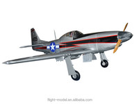 "Rc plane P-51 Mustang 96"" 80-100CC F0071 airplane toy"