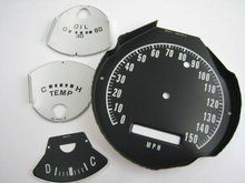 High quality custom made dial panel of speedmeter for cars