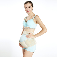 maternity back support brace with steel velcro adjustable pregnancy support belt for waist support