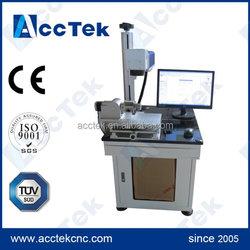 CE ISO FDA fiber laser marking machine/ laser marking stainless steel for sale