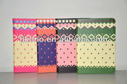 Hot selling colorful holder pu covers for apple ipad mini