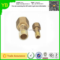 custom Brass Water Meter Connector, Made by Forging and CNC Process