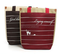 polyester conference bag/ 600d polyester canvas bag 600-denier polyester cooler bag