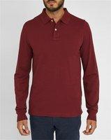 Fashion Long Sleeve Man Cotton Dri Fit Polo Shirts Wholesale