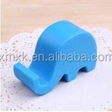 elephant plastic funny cell phone holder for desk