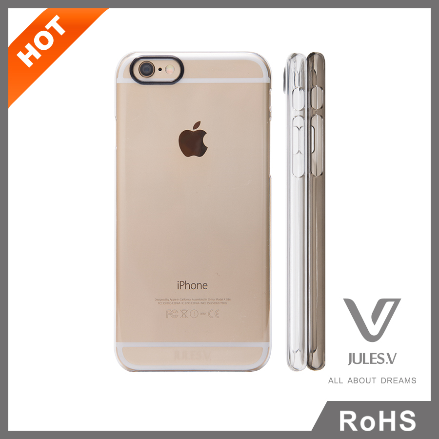 high quality free sample available transparent plastic case cover for iphone 6 4.7''