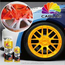 Carlas car wheel rim rubble pulvérisation pelable peinture