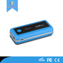 Better price portable Mobile Universal usb power bank for xiaomi 5600mah Li-on battery charger power bank for smartphone