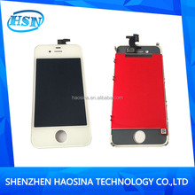 Oem brand new original cell phone lcd touch screen digitizer for iphone 4