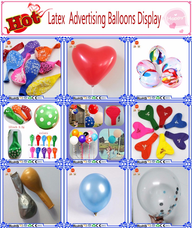 wholesale custom intelligent flying foil balloon various color with the new 2016 in shenzhen factory