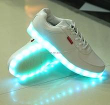 929 caliente del cordón unisex LED del deporte del último deporte zapatos zapatos baratos de los deportes