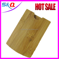 2015 cute Wood Gift table business Card Holder DIY made in China