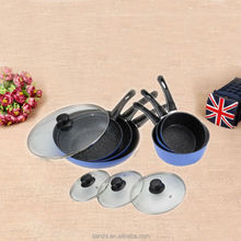 China 2016 new products non-stick enamel cookware sets