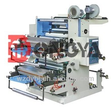 Double Colors Flexographic Printing Machine