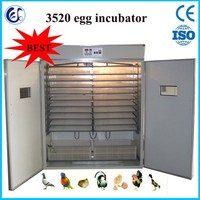 2014 best selling duck egg incubator with CE approved for sale