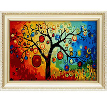 2015 diy diamond painting landscape wooden frames for painting china home decor wholesale famous artists painting