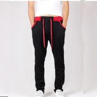 Wholesale hip hop dance pant for men with colorful string