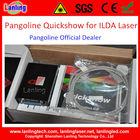 pangoline quickshow laser software para ilda animação laser