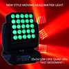 25 pieces 10W CREE LED 4 in 1 Moving Head Matrix Beam Light for Stage Show