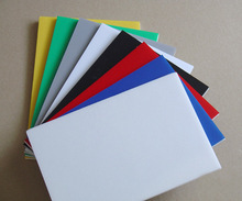 Hot selling extruded color pvc sheet
