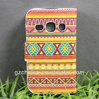 Anti shock tribal pattern for samsung galaxy fame s6810 pu leather flip case