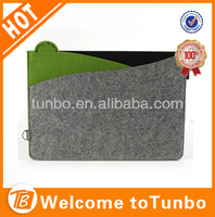 felt bag cover tablet pc case for ipad laptop hollow out