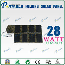2015 innovative products 28W solar battery charger for iphone