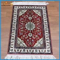 2x3 foot silk hand knotted washable rugs london