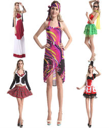 Trade assurance $ 2015 instyles 1920s wholesale Ladies Sexy Hippie costumes Roman costume Ladies fancy dress