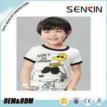 wholesale boys organic cotton t-shirt, short sleeve t-shirts for children,baby clothes OEM